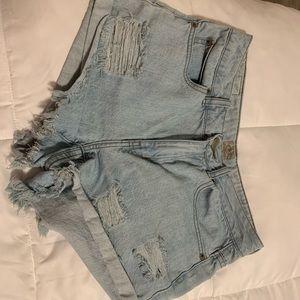 Rip Curl Denim short shorts size 5